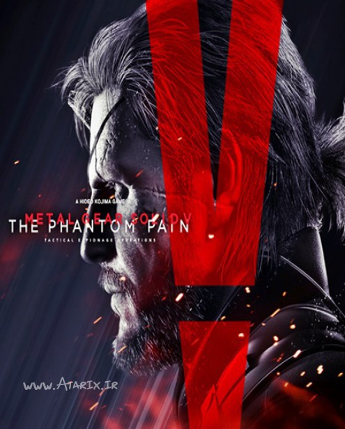متال گیر سولید وی - د فانتوم پین Metal Gear Solid V The Phantom Pain