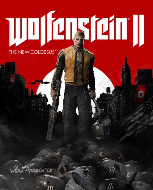 ولفنشتاین 2 د نیو کولوسس Wolfenstein II The New Colossus